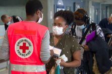 Contrôles sanitaires à l'aéroport des Abymes en Guaddeloupe