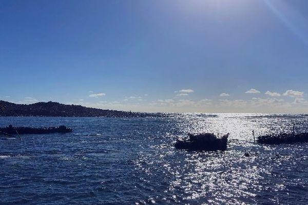 Océan embouchure de la rivière de l'Est avril 2019