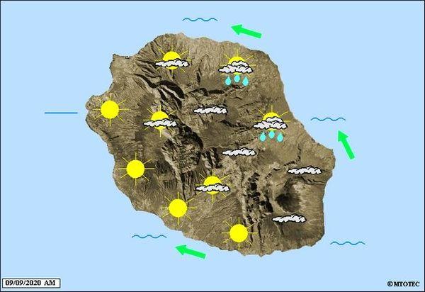 Carte météo 9 septembre 2020