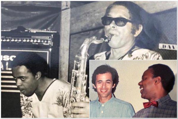 Paulo Rosine et des amis musiciens