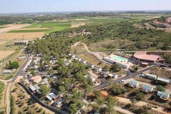 "Camping ""Mer et Camargue"" Calvisson Gard, incendie Saint-François"