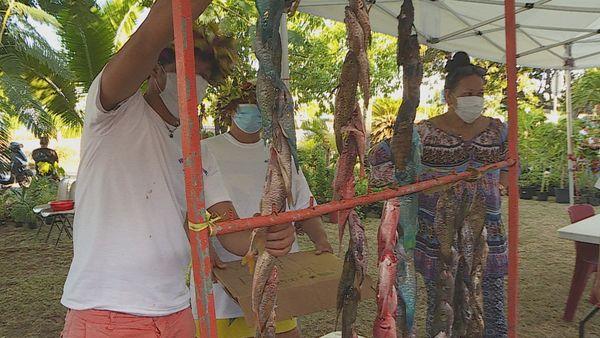 Du monde et du choix au marché du terroir de Punaauia