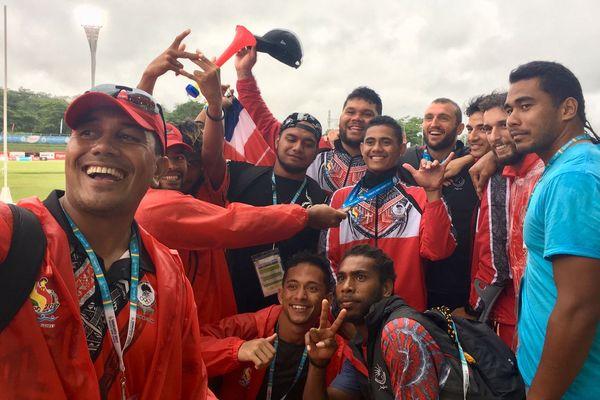 4 médaillés en athlétisme! Vanuatu 2017