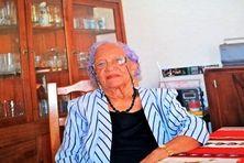 Emilie Médelia Barclay, 106 ans