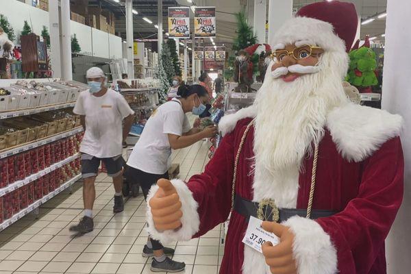 Le père Noel va-t-il pouvoir passer ?
