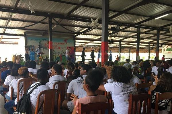 Séminaire de cohésion pour les lycéens de guyane