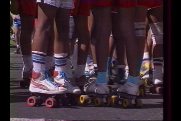 Il y a 32 ans : concours de patins à roulettes au Barachois