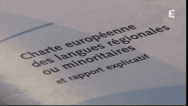 charte européenne des langues régionales ou minoritaires