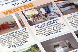Petite annonce vente immobilière