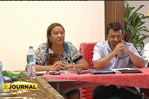 Tahoeraa : Lana Tetuanui et Nuihau Laurey entrent en campagne