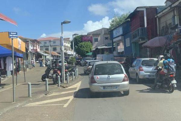 Rue du commerce Mamoudzou