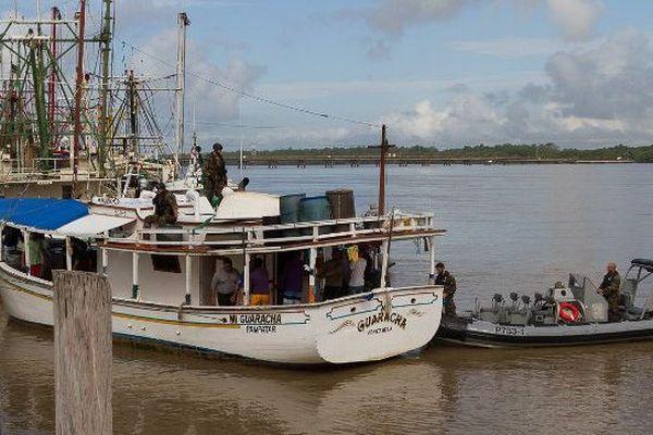 Le bateau vénézuélien Guaracha