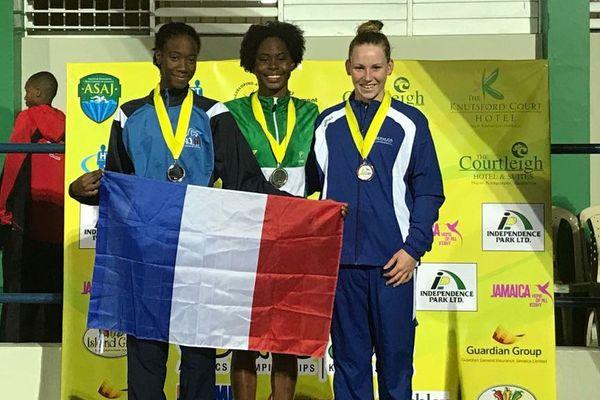 podium natation 50 dos