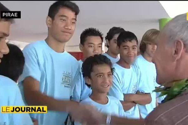 Football : 120 jeunes Polynésiens à l'Euro
