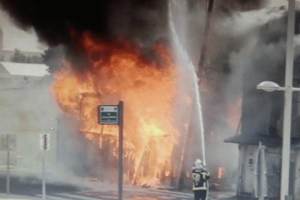 Incendie rue Raspail