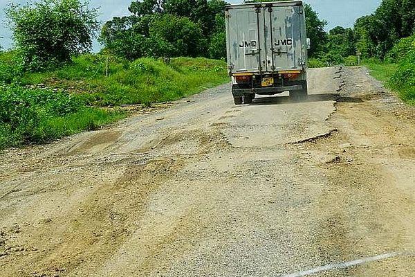 Camion ou se cache des fuyards de Tamatave Covid-19