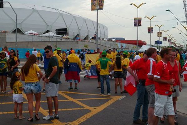 Spectateurs de Manaus