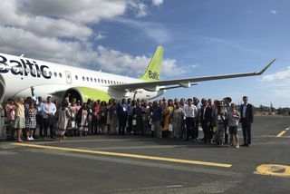 Airbus A220 élus