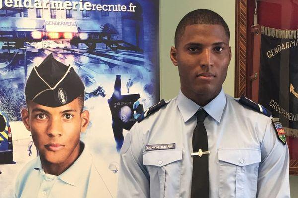Le gendarme Yves-Audric Amour