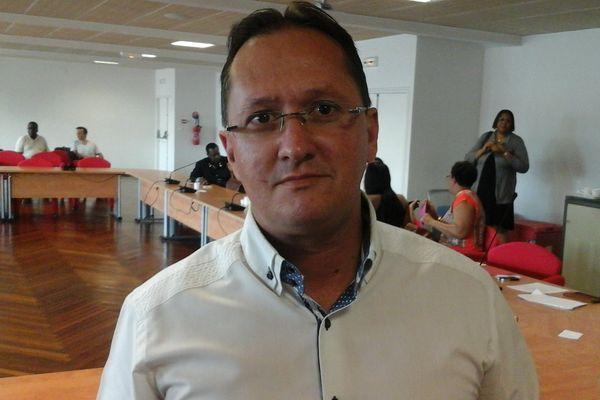David Riché Président de l'association des maires