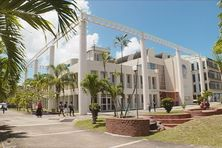 Université des Antilles campus de Schoelcher en Martinique