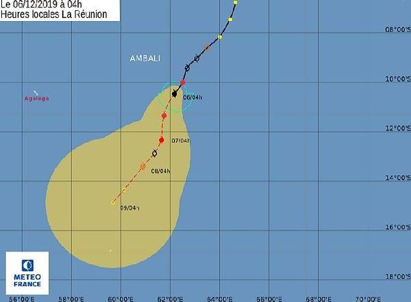 Cyclone Tropical Ambali