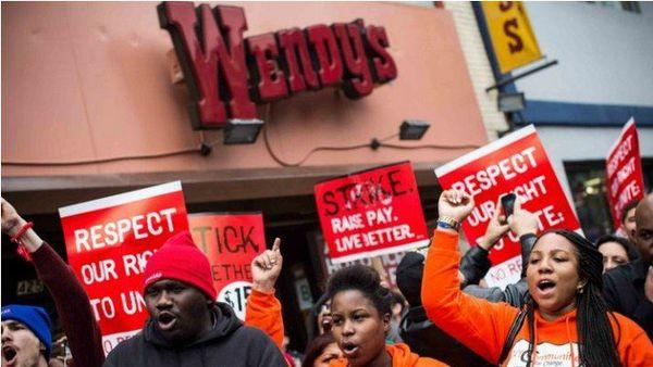 grève fastfoods