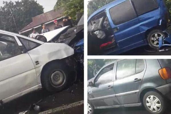 3 voitures impliquées dans un accident à Papeari