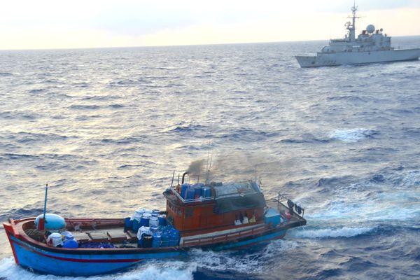 Blue boats vietnamiens interceptés le 30 novembre 2017