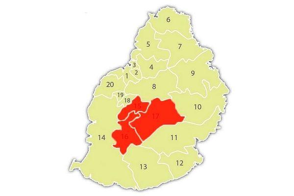 Covid-19 : circulation interdite dans trois circonscriptions de l'île Maurice
