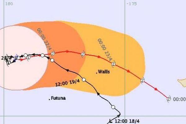 Cyclone Amos à Wallis
