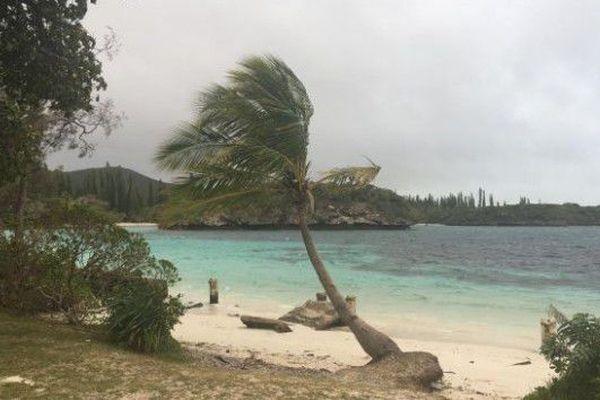 L'île des pins a été placée en alerte 2
