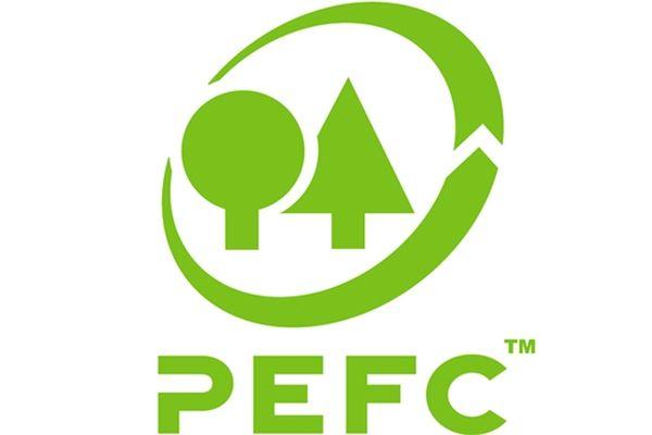 Le logo du programme de reconnaissance des certifications forestières