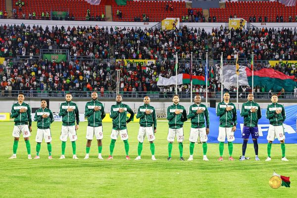 Equipe de Madagascar septembre 2021