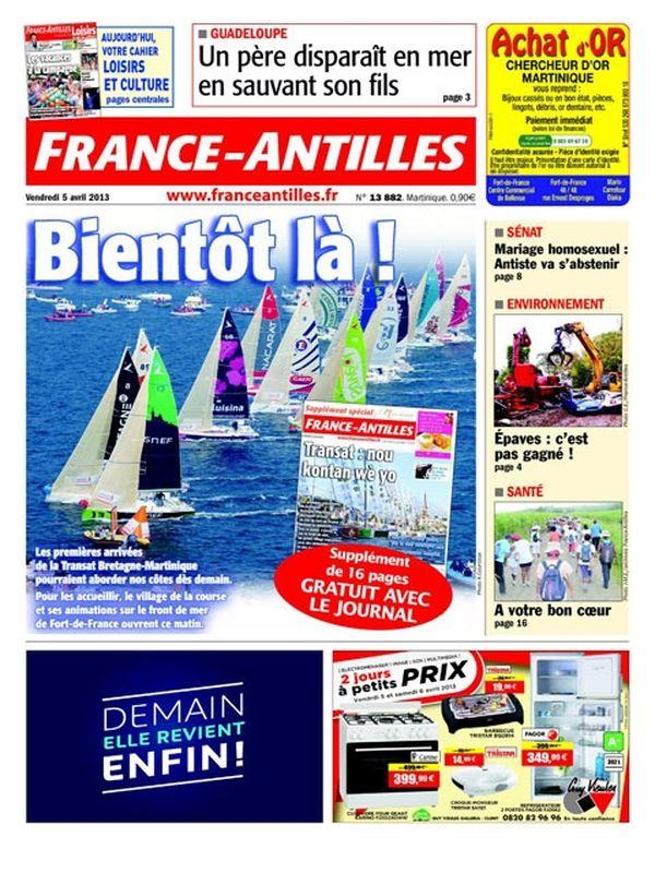 Une France Antilles Martinique 05 avril