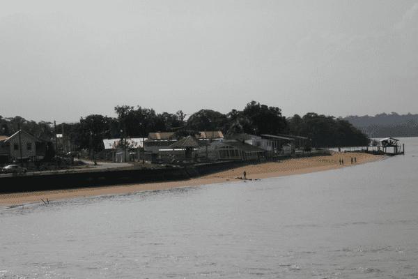 Bartica plage