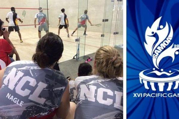 Samoa 2019, mosaïque grand chelem au squash