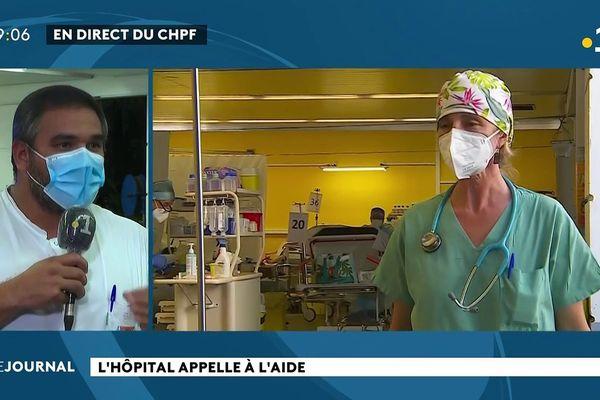 Covid : le point au centre hospitalier