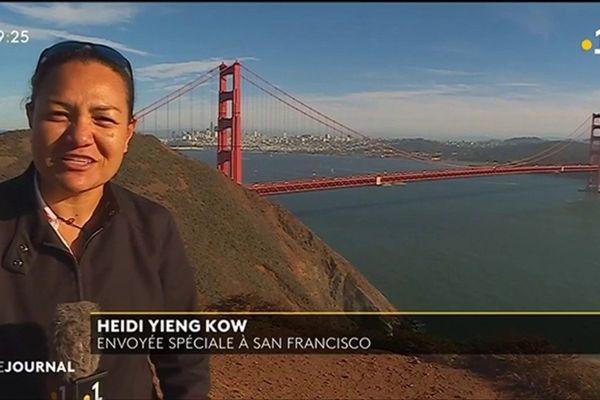 Carte postale de San Francisco