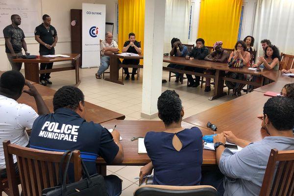 Réunion citoyenne à Saint-Laurent contre la violence le 6 2 19