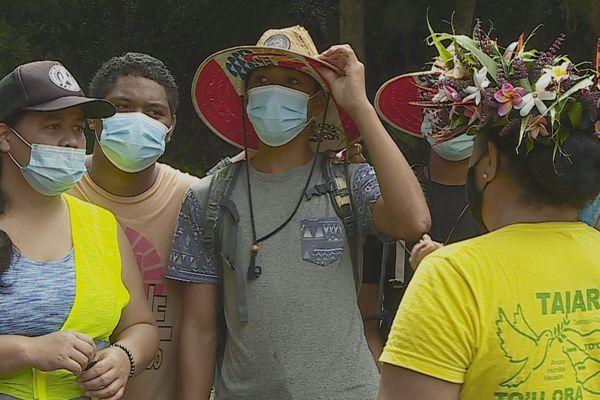 Virée à la presqu'île pour les enfants des quartiers de Papeete