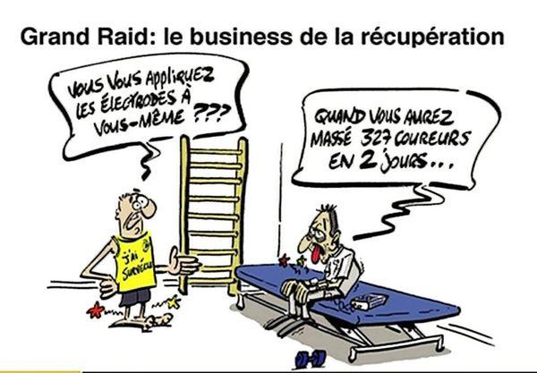 Le dessin de Souch : Grand Raid
