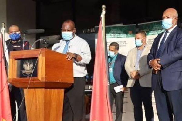 Papouasie Nouvelle-Guinée : confinement ordonné par le premier ministre James Marape