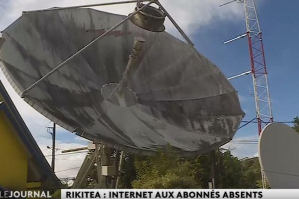 Rikitea : internet aux abonnées absents