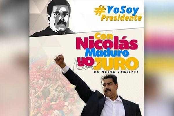 Affiche Nicolas Maduro