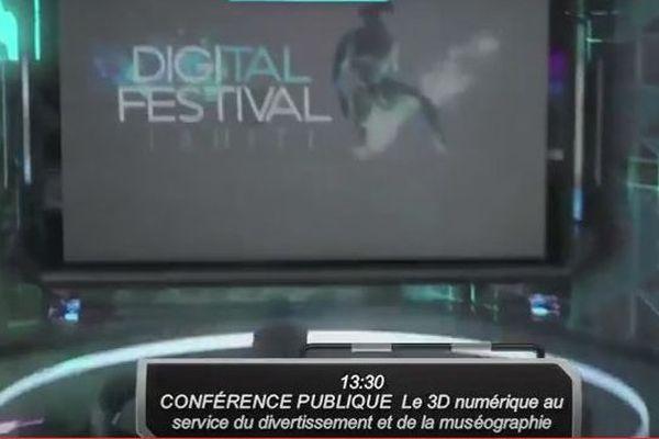 Suivez les conférences du Tahiti Digital Festival en direct !