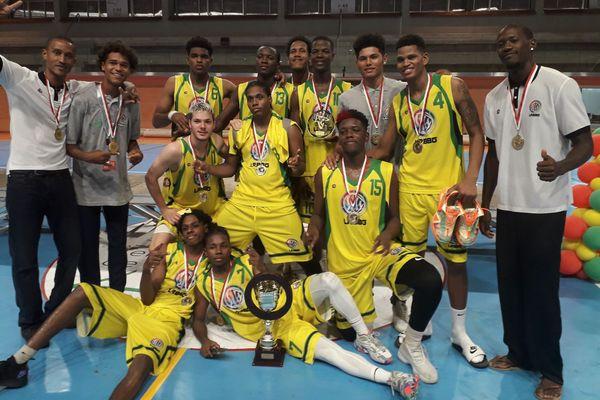 La sélection de Guyane remporte pour la seconde fois le Guymarga 2020
