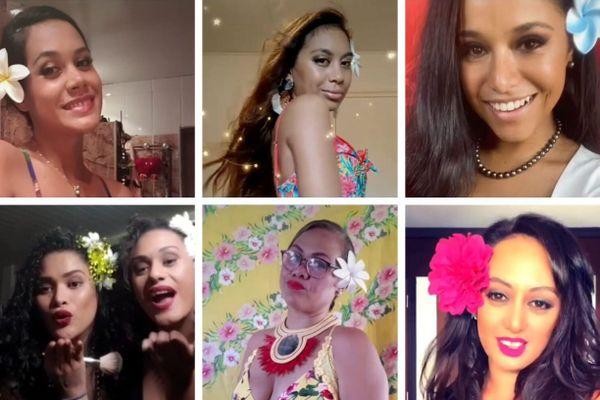 Le #dontrushchallenge : le défi beauté qui illumine les beautés polynésiennes