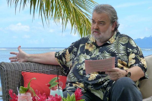 Laurent Gerra au Méridien à Tahiti, interviewé par Lolo pour Polynésie 1ère 7