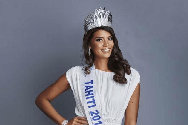 Vaimiti Teiefitu, Miss Tahiti 2015, candidate à Miss France 2016